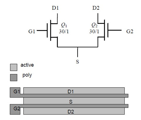 2-Alternative-Differential-Pair-Layout